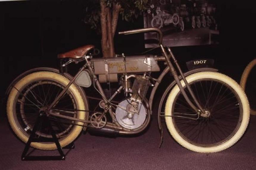 Antique 1907 Harley Davidson