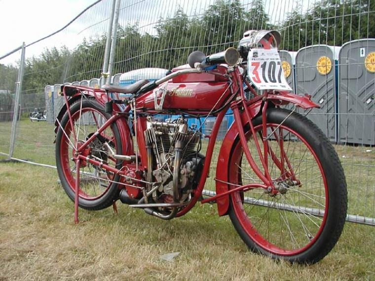 Antique 1915 Indian Light Twin
