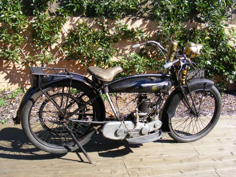 Antique 1922 Soyer 212 HP