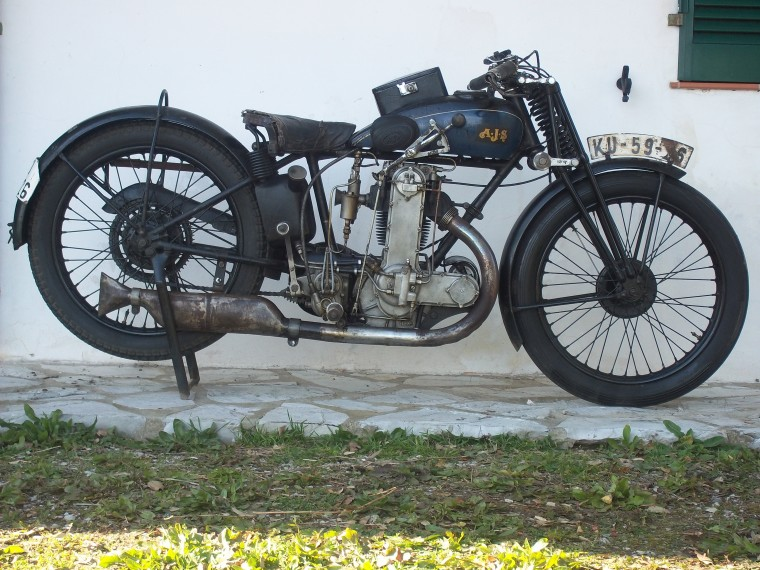 Antique 1929 Ajsm 7