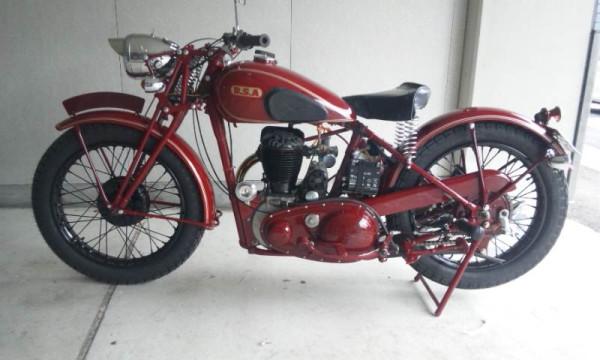 Antique 1937 B.S.A. M20