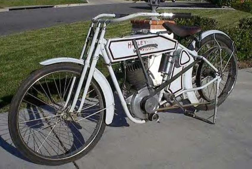 Antique 1915 Harley Davidson